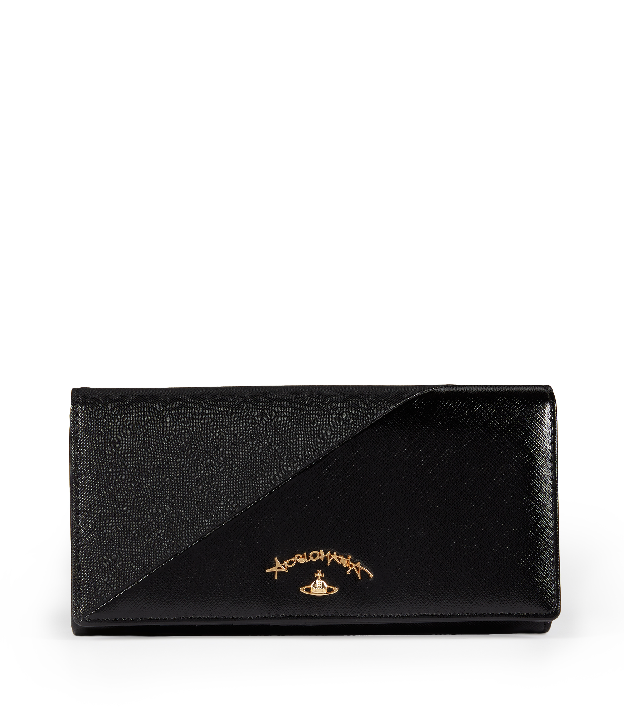 Vivienne Westwood Black Liverpool Purse 1032