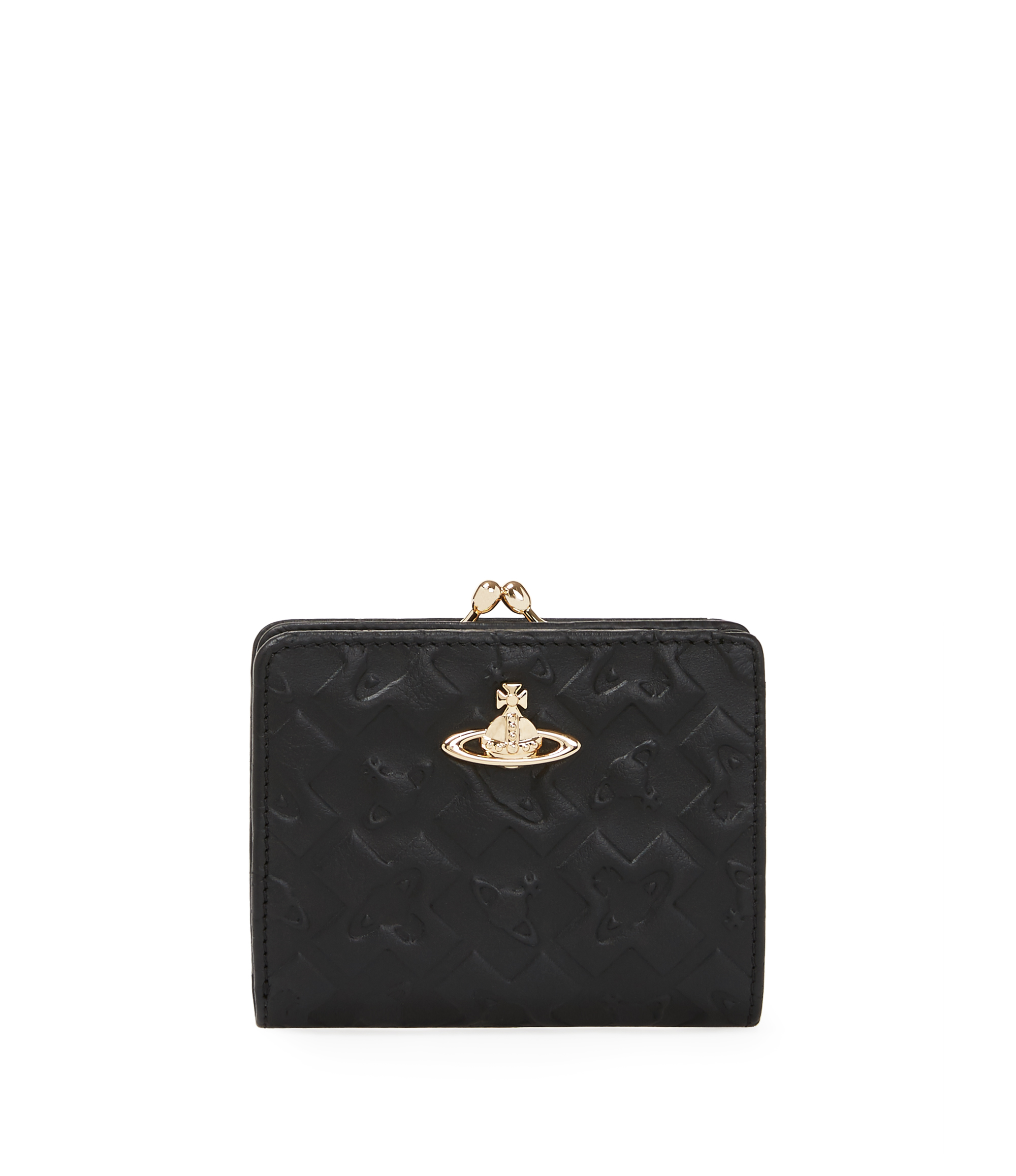 Vivienne Westwood Harrow Wallet With Coin Pocket 321514 Black