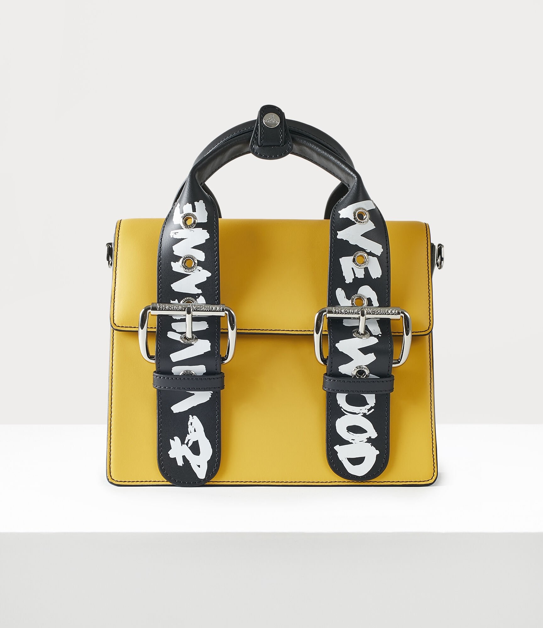 Vivienne Westwood Alex Medium Handbag Yellow