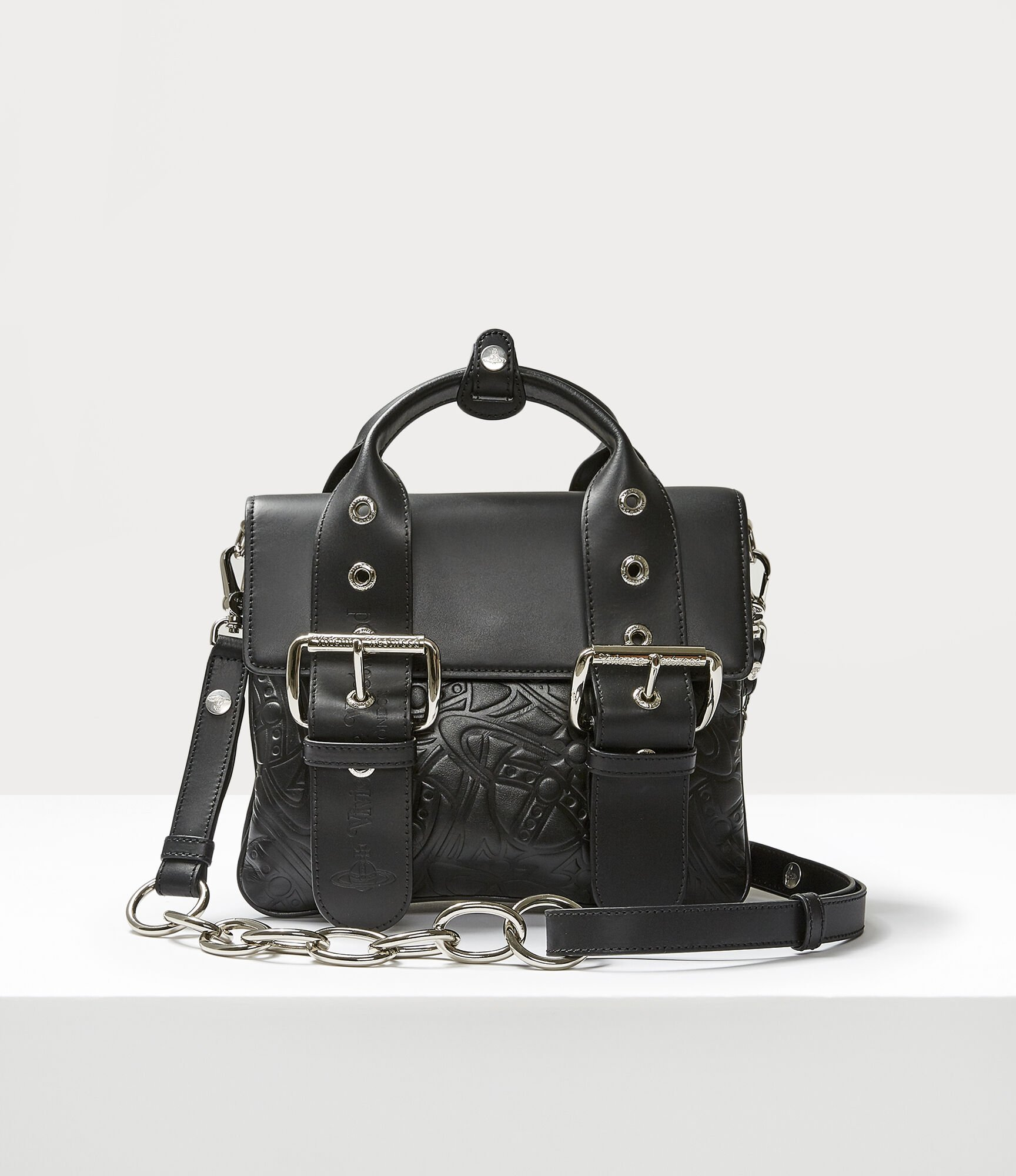 Vivienne Westwood Alexa Medium Handbag Black