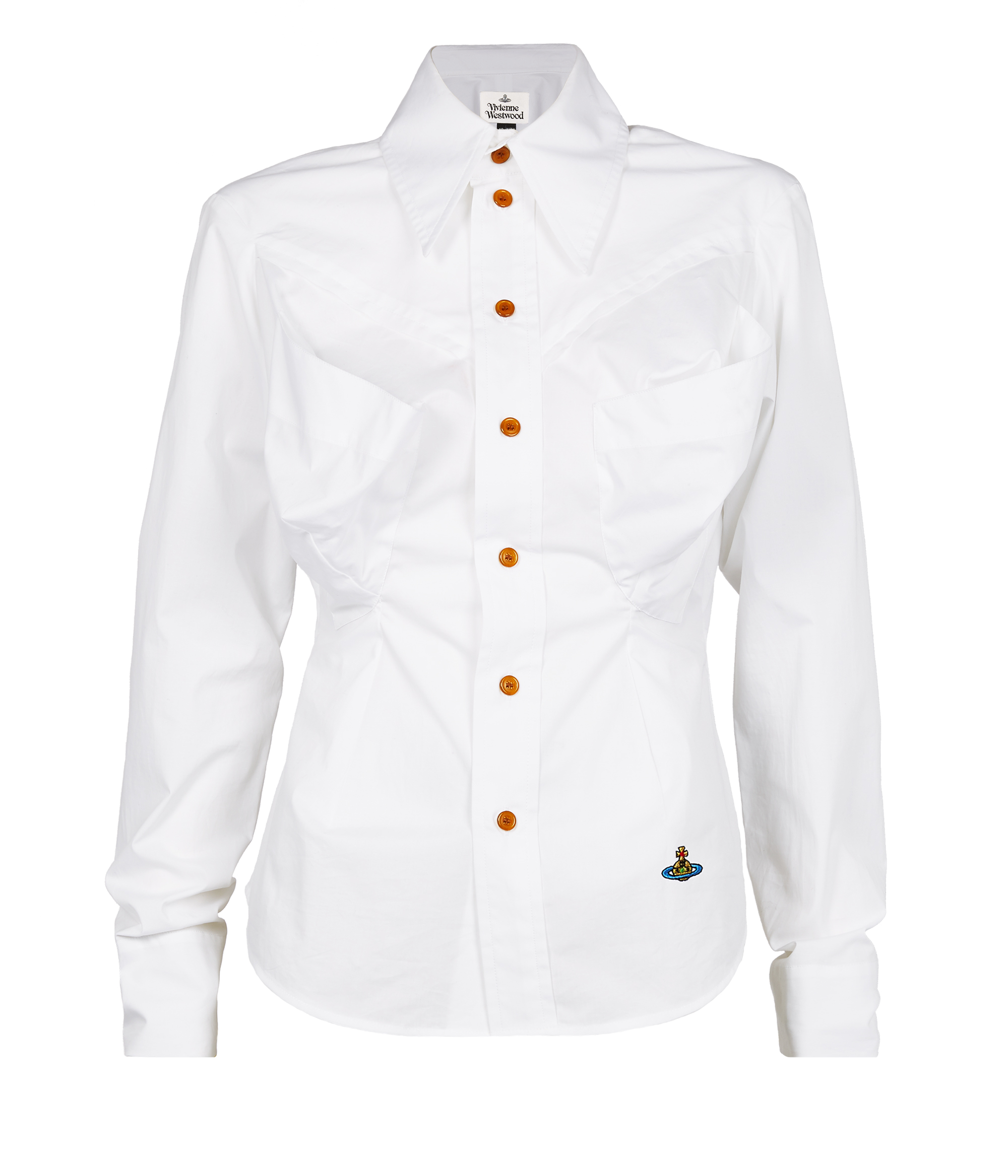 Vivienne Westwood Fire Shirt White