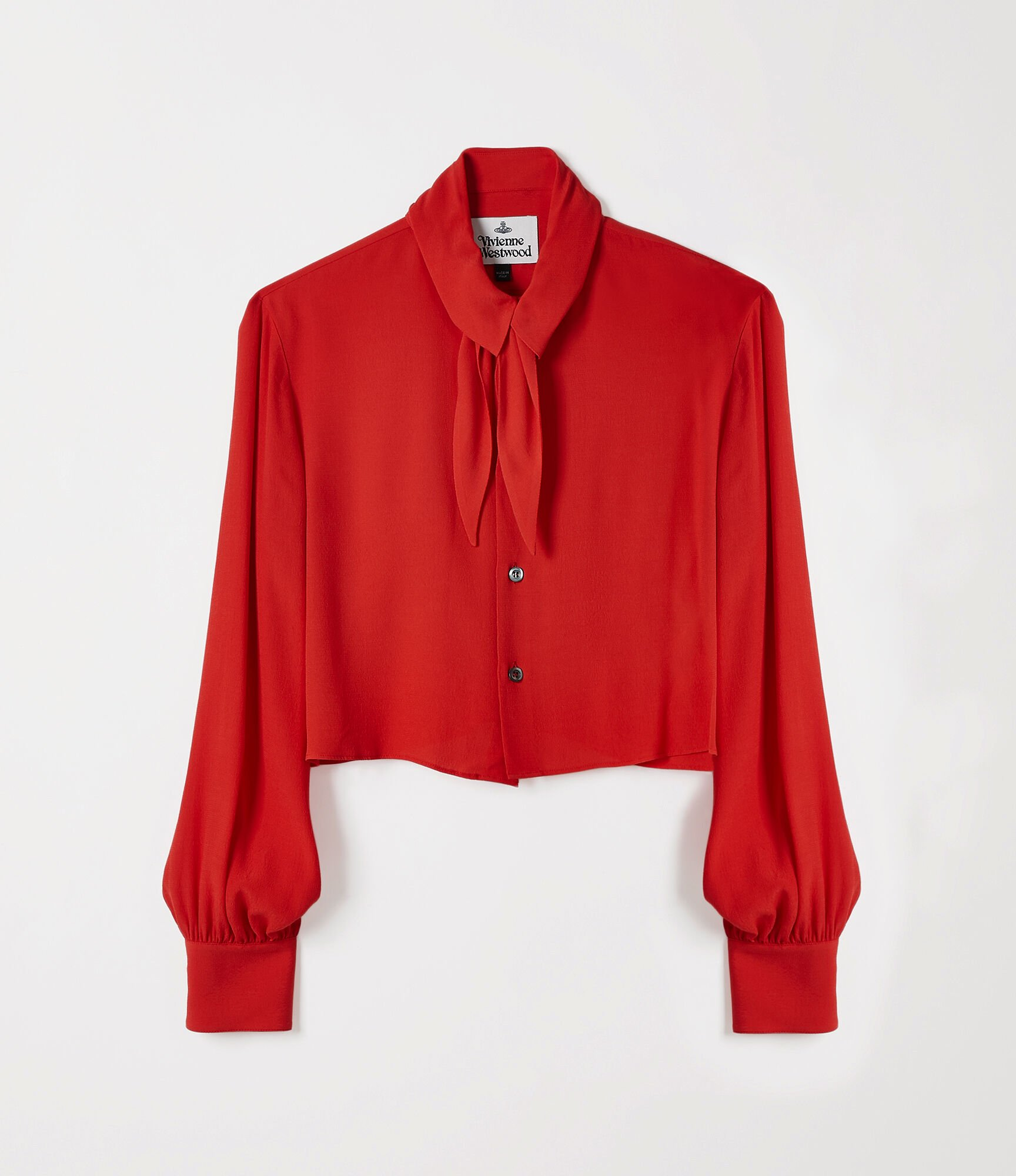 Vivienne Westwood Hals Cropped Shirt Red