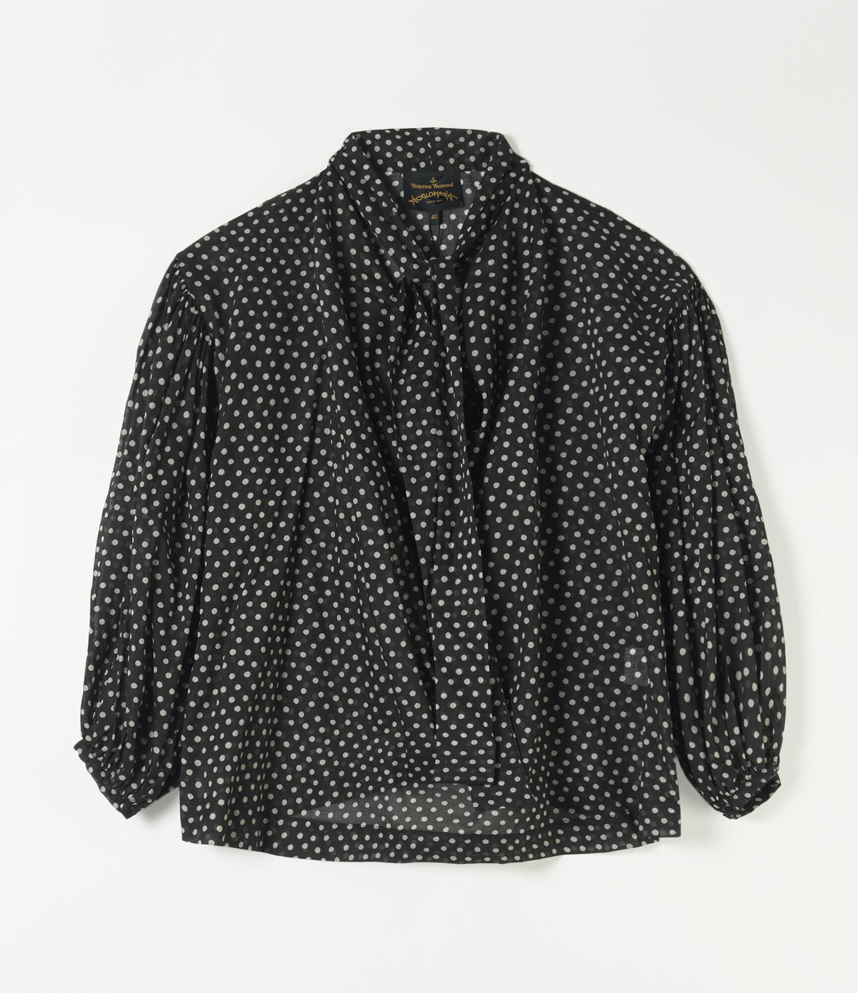Vivienne Westwood New Garret Blouse Black/White