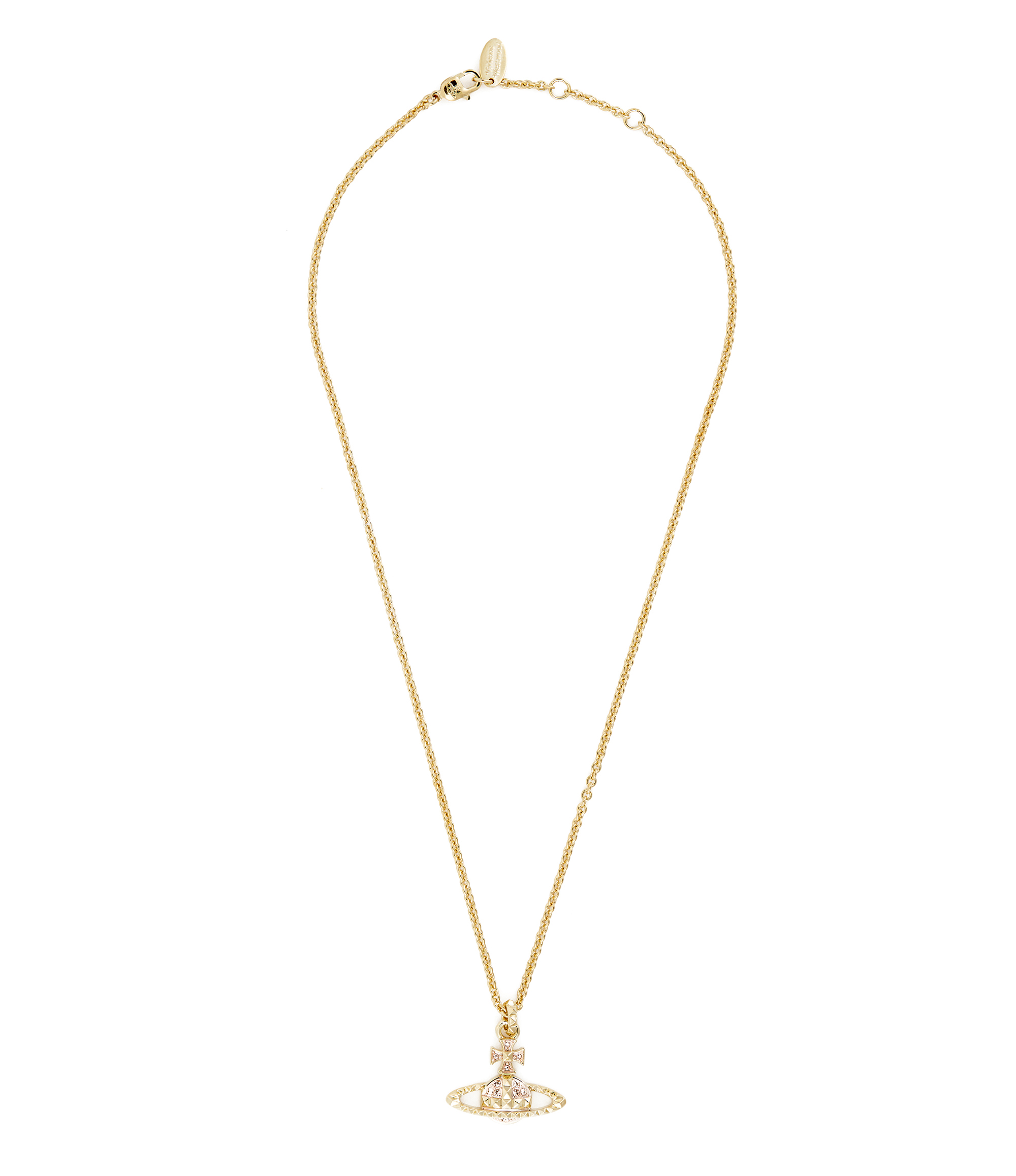 Vivienne Westwood Mayfair Bas Relief Pendant Rose Gold