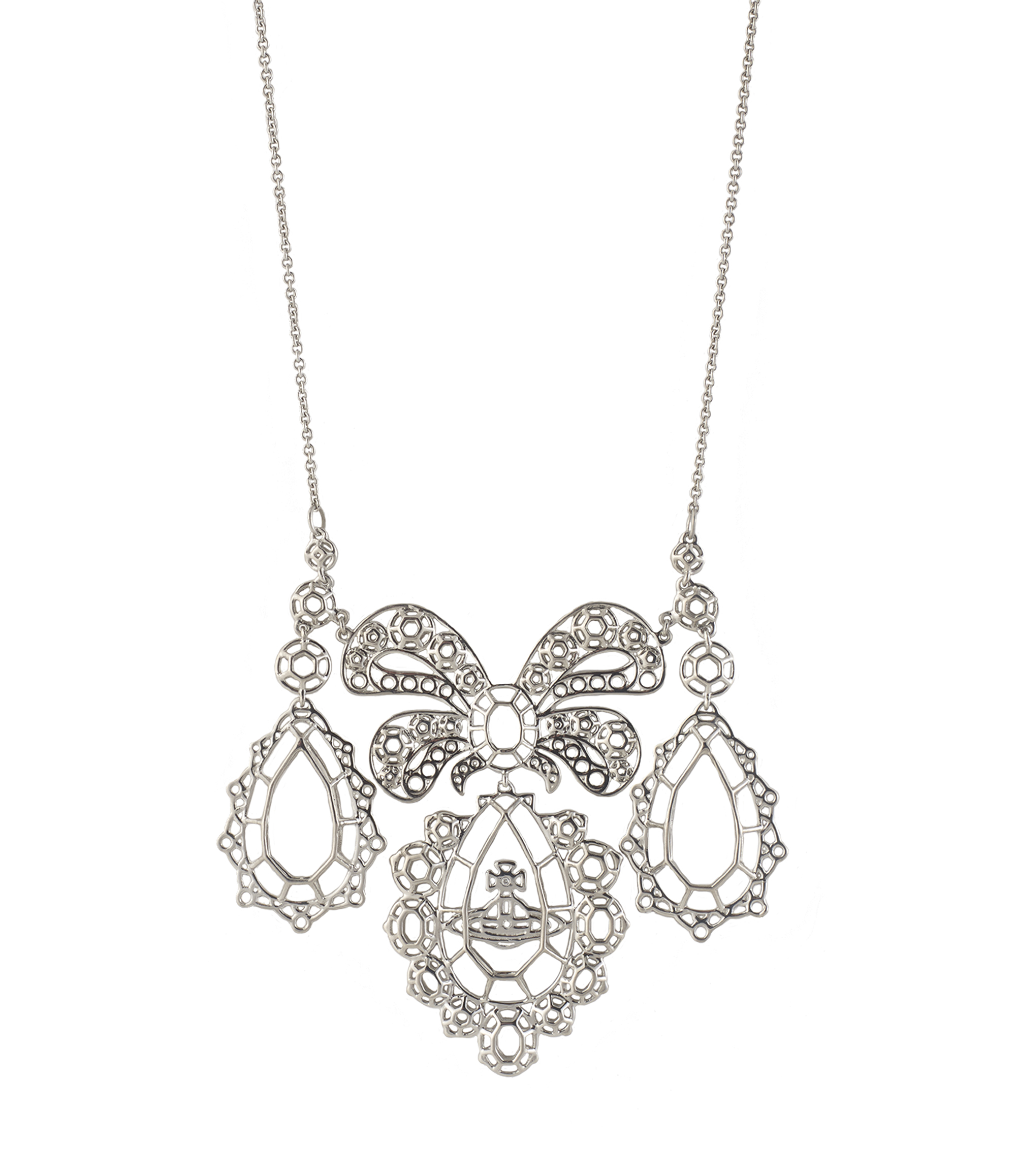 Vivienne Westwood Palladium Gainsborough Necklace