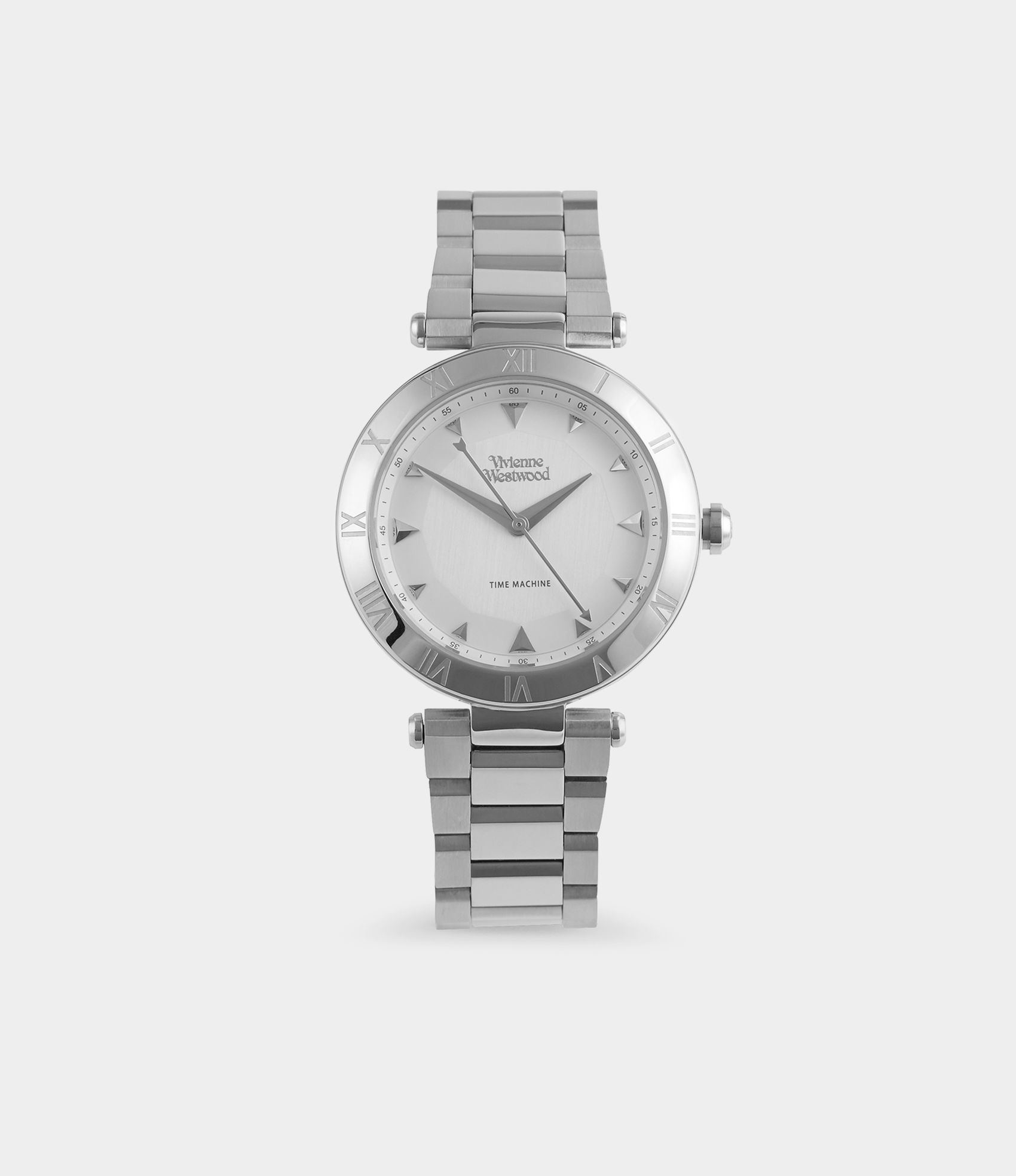 Vivienne Westwood MONTAGU WATCH SILVER - Click Image to Close